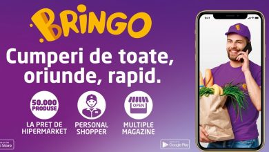 Photo of O nouă aplicație cu ajutorul căreia îți faci cumpărăturile și le primești acasă, Bringo, a devenit disponibilă în Deva