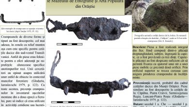 Photo of Un crampon dacic din fier aflat în colecțiile Muzeului de Etnografie și Artă Populară Orăștie