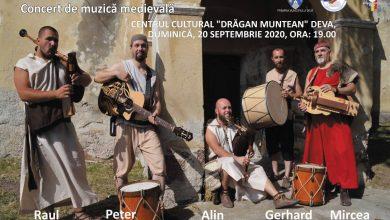 Photo of Concert de muzică medievală în Piața Victoriei din centrul Devei