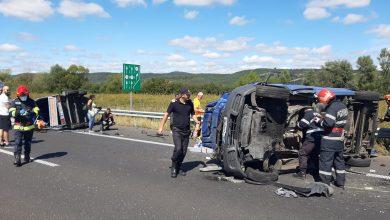 Photo of Accident rutier mortal pe autostrada A1, la kilometrul 389, în apropiere localităţii Ilia.