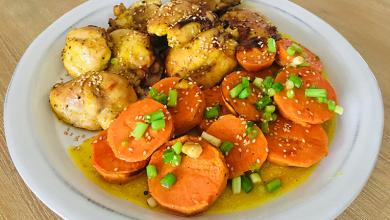 Photo of Pui cu cartofi dulci la cuptor