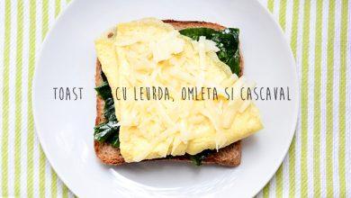 Photo of Toast cu omletă, leurdă și cașcaval