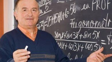 Photo of (Video)Profesor Ioan Ursu – Dat afară din învățământ pentru ca filma lecții de matematică și le oferea GRATUIT pe internet, din 2010!