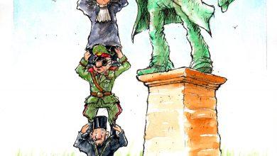 Photo of Coloana celor fără de coloană devine, pe zi ce trece… infinită – Caricatura zilei – by Liviu Stănilă