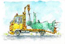 Photo of După camionul de îngropat istoria, se pare că a fost lansat și TIR-ul de îngropat… poporu'…Caricatura zilei by Liviu Stănilă
